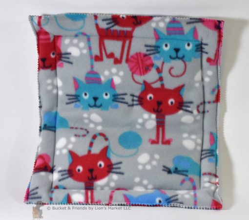 Cats love these catnip mats to snuggle up on and roll all over. Great for all of their sleeping spots.