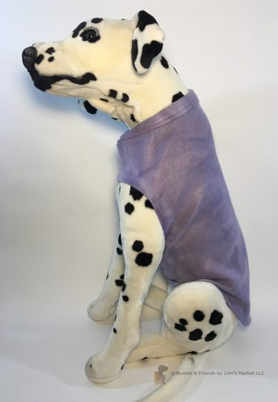 Soft and warm fleece dog coat size large by bucketandfriends.com