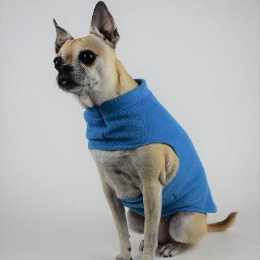 Fleece Coat in Rocket Blue