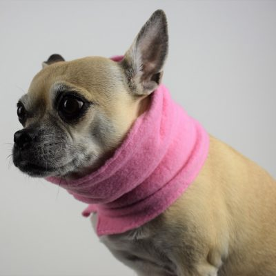 Neck Warmer in Gumdrop Pink