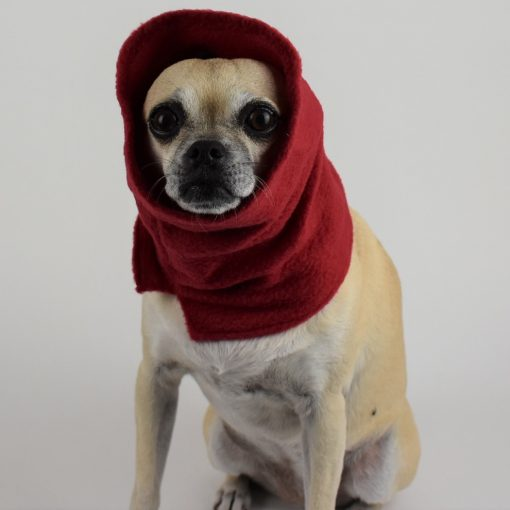 Neck Warmer in Chili Red 2